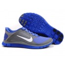 Unisexe Femme Chaussures pas cher - Nike Free Run 4.0 V3 Grise Violet (QEIi0)