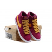 Nike Blazer Chaussures Nike Femme solde High Violet Orange (F2DPr)