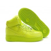 Soldes Nike Air Force 1 Mid '07 Volt (AgHeF)