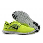 Chaussures Nike Homme Nike Free Run 3 Jaune Relect Argent (88CRn)