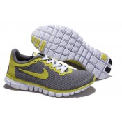 Homme Achat Chaussures Nike Free Run 3.0 V2 Grise Jaune (k7yPT)