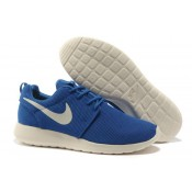 Nike Roshe Run Chaussures authentiques pour Homme Bleu Blanc Mesh (5HYYz)