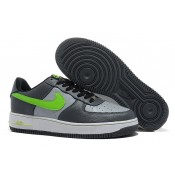 Achat Nike pas cher Nike Air Force 1 Basse Gris Volt Blanc Homme (2uf53)