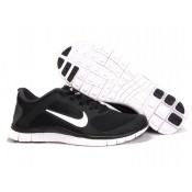 2014 Nike en ligne Nike Free 4.0 V3 Homme Chaussures Noir Blanc Cours (ryu6o)