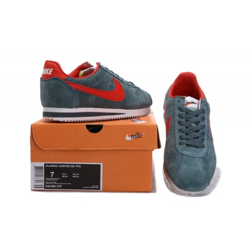 Nike Chaussure Nike Cortez Anti-Fur Gris Rouge Homme (xP1Is)