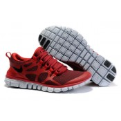 Homme Promo Nike Free Run 3.0 V3 Vin Gym Rouge (A0QF7)