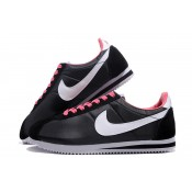 promotions Nike Cortez Oxford Cloth Noir Blanc Rose Homme (Xqjxp)