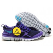 Nike Free 3.0 V3 Obsidian Pure Pourpre Turquoise Bleu Femme Chaussures (ohuVW)