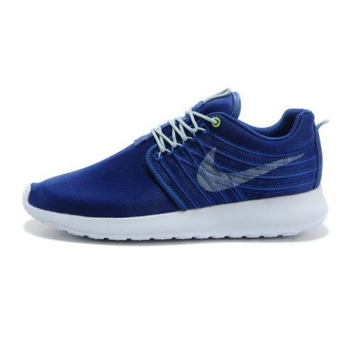 Nike Roshe Run Dyn FW Chaussures authentiques pour Homme Bleu Blanc Couple (YJxc9)